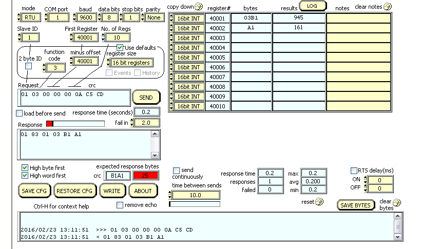 Modbus TCP driver to RS485 Device - Ignition - Inductive